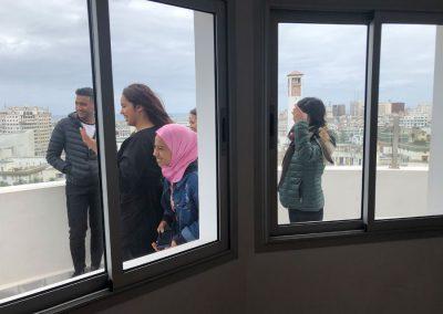 """Les jeunes de Sbata (banlieue de Casablanca) """"Périphérie au centre"""" de H2/61.26"""