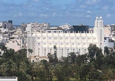 L'Eglise Sacré-Cœur de Casablanca vue depuis H2/61.26.